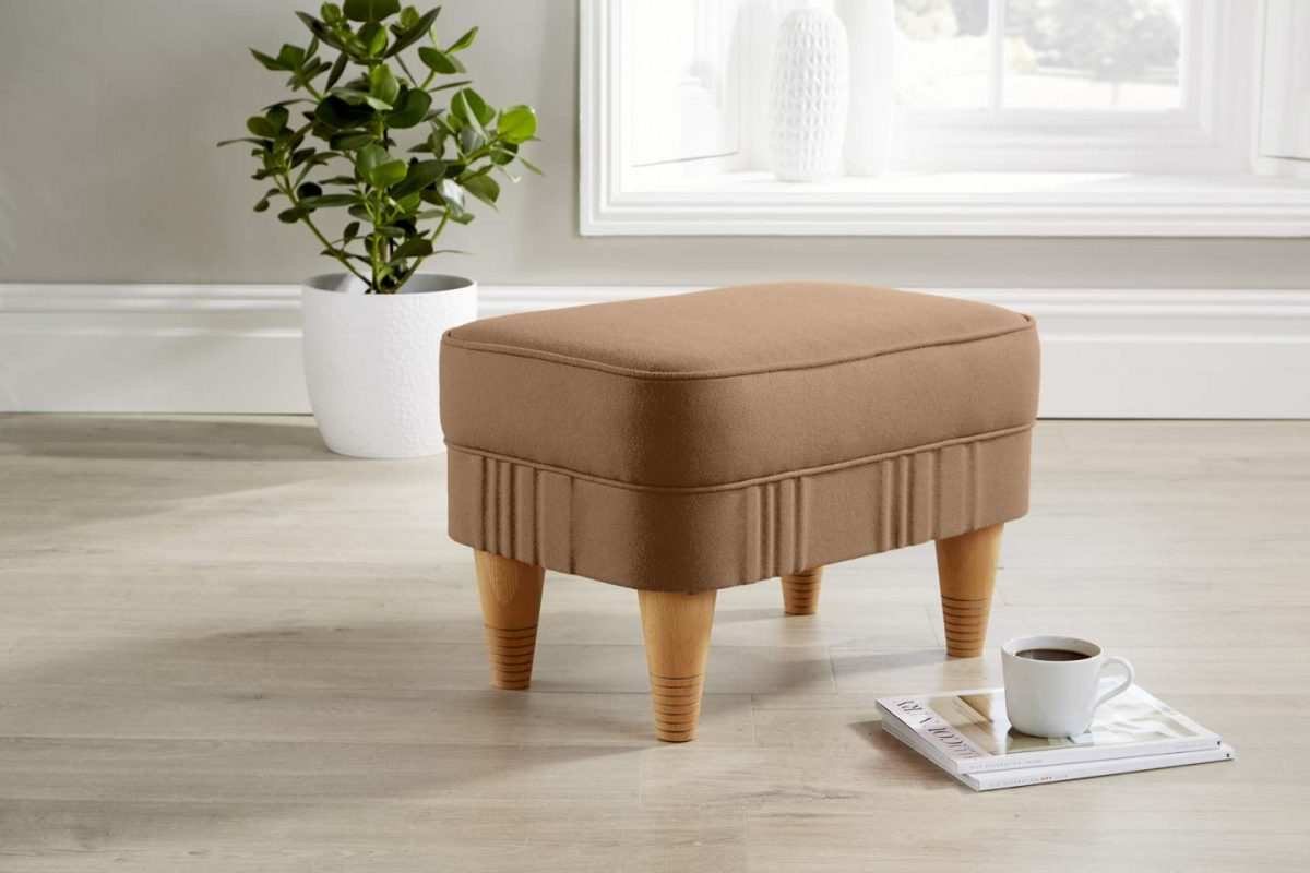 footstool copper